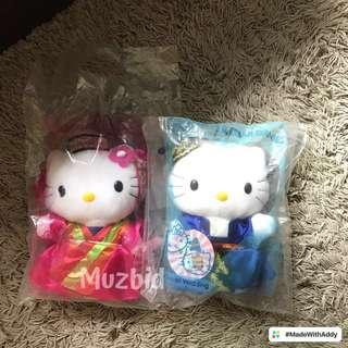 Hello Kitty and Dear Daniel Korean Wedding Plush Toy - Millennium Collectibles