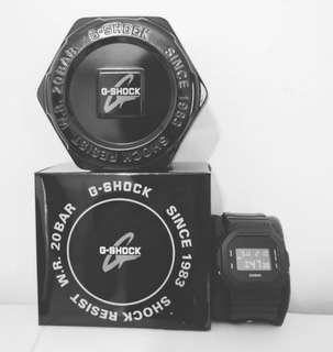BNIB - G-SHOCK DW 5600BBN (Black Cordura)