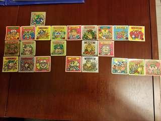 零食貼紙,聖童軍23張,不求質素