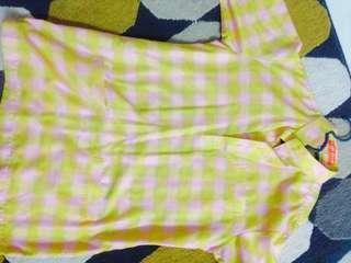 Baju melayu zizan razak pink kuning