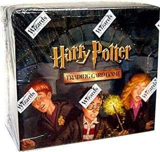 LOOKING FOR : HARRY POTTER TRADING CARD GAME BOOSTER BOX