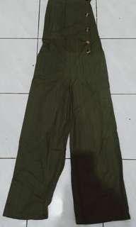 Jumpsuit green army