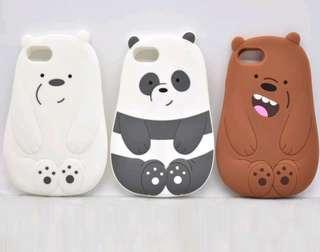🚚 We bare bears iphone 7/8 plus cover (icebear)