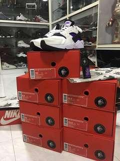 Brand New Nike Huarache Run 91 QS Purple Punch US9.5 to US11