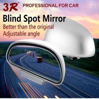 🚚 Universal Car Blind Spot Wide Angle Rear Side View Mirror Adjustable 360 Degree Rotation