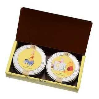 日本 Disney Store 直送 LUPICIA x DISNEY Winnie the Pooh & Piglet & Eeyore 小熊維尼豬仔咿唷鐵罐茶包禮盒