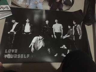 BTS TEAR OFFICIAL POSTERS