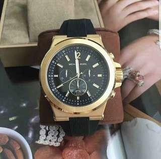 MK DYLAN RUBBER STRAP AUTHENTIC WATCH