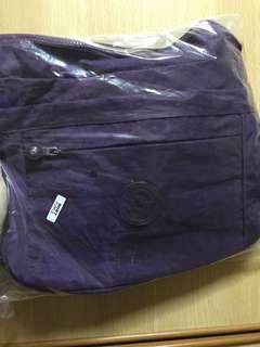 Laselle purple sling bag