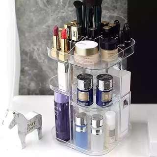 360 Rotating Acrylic Rotating Makeup Organizer