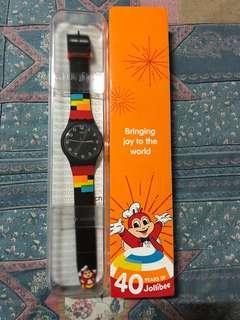 Jollibee Swatch watch