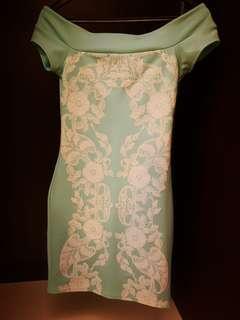 Branded Dress above knee