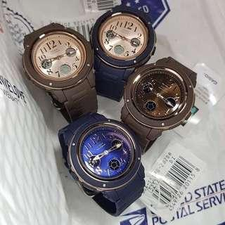 🚚 NEW🌟ARRIVAL in BABYG CASIO SPORTS WATCH : 1-YEAR OFFICIAL WARRANTY: 100% Original Authentic BABY-G Shock Resistant : Best Gift For Most Rough Users & Unisex : BGA-150PG-2B2 / BGA150PG-2B1 / BGA-150PG-5B2 / BGA-150PG-5B1 / BABYG / G-SHOCK / WATCH