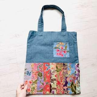 f652752629 Batik Patchwork Tote Bag Handmade in Singapore