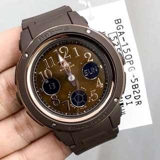 🚚 NEW💝ARRIVAL in BABYG CASIO SPORTS WATCH : 1-YEAR OFFICIAL WARRANTY: 100% Original Authentic BABY-G Shock Resistant in Absolutely Toughness : Best Gift For Most Rough Users & Unisex : BGA-150PG-5B2DR / BGA-150PG-5B2 / BGA150PG-5B2 / GSHOCK / BABYG / WATCH