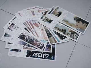 GOT7 Unofficial Postcards