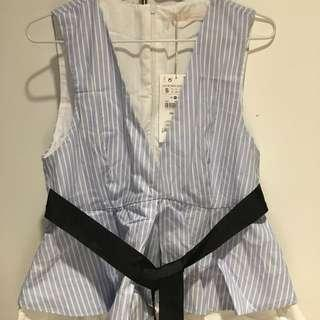 Zara trendy tops 100% new with tag