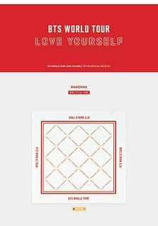 Pre-order BTS Love Yourself MD Bandana