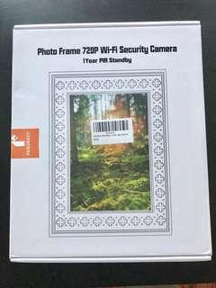 Panoraxy WIFI Hidden Spy Camera Picture Frame Brand New