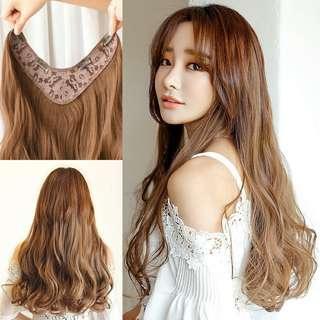 🚚 U型假髮