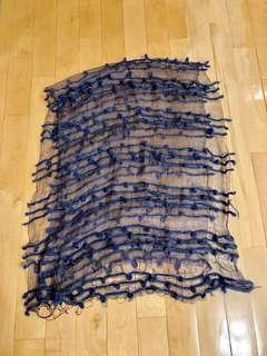 Silky shawl