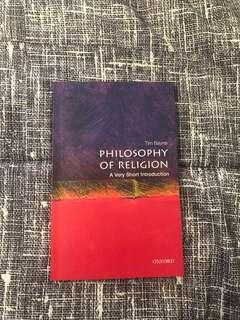 BRAND NEW philosophy of religion book