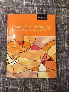 BRAND NEW desire, love, & identity: philosophy of sex and love