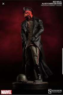 Sideshow Red Skull PF  Allied Charge 1/4 Scale Statue