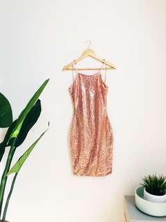 Sequin Blush Pink Dress 💖 NWT!