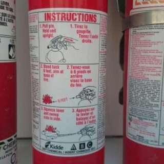 General Fire Extinguisher, for boat, garage, store, workshop