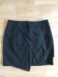 Skirt black mini