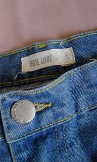 TRUE LOVE highwaist pants