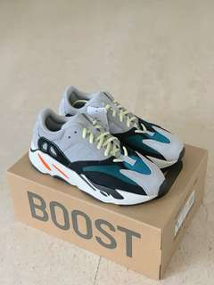 hot sale online 2dc89 462e5 UK8.5 Adidas Yeezy 700 Wave Runner OG