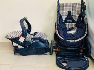 Graco Alano Travel System (Car Seat plus Stroller)