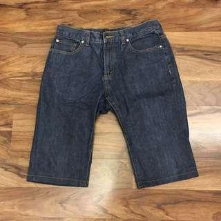 🚚 Almost New Raoul Men Bermuda Denim Material