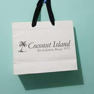 Paper Bag Coconut Island