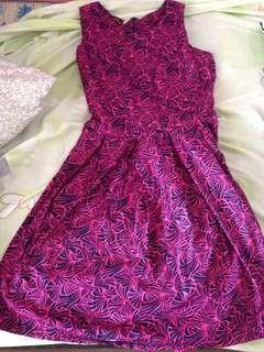 Thailand pink dress