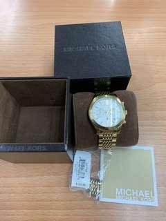 Original Michael Korrs Gold Watch