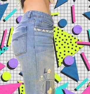 Hippie/Vintage gapkids flare denim jeans
