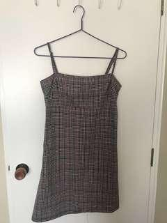 Princess Polly checkered dress