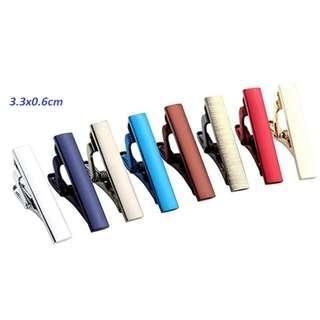 Tie clip Tie pin (for slim tie)
