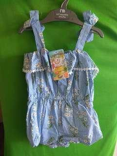 Gingersnap Romper tiny 18