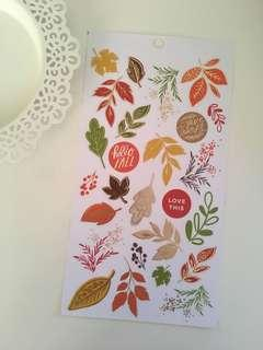 mambi sticker sheet wih foil