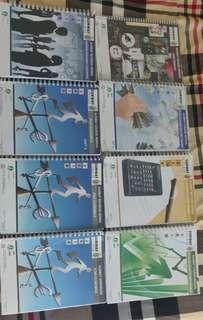 Graphic Calculator and Ausmat Books(manual and revision guide)