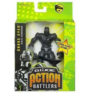 Hasbro G.I. Joe Action Battlers Snake Eyes Ninja Commando