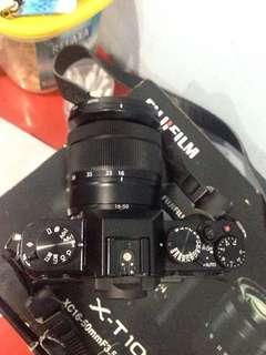 Fujifilm xt10 + lensa