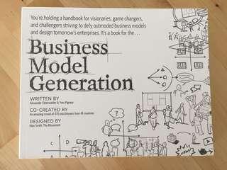 "NEAR-NEW ""Business Model Generation"""