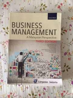 Fundamental of Business Management