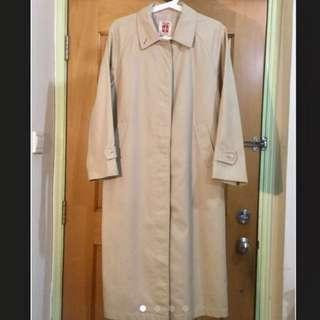 Made in Japan khaki trench coat vintage