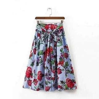 Floral Skirt (new)